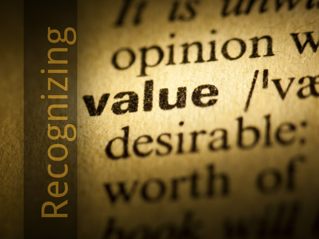 Recognizing Value 2.001