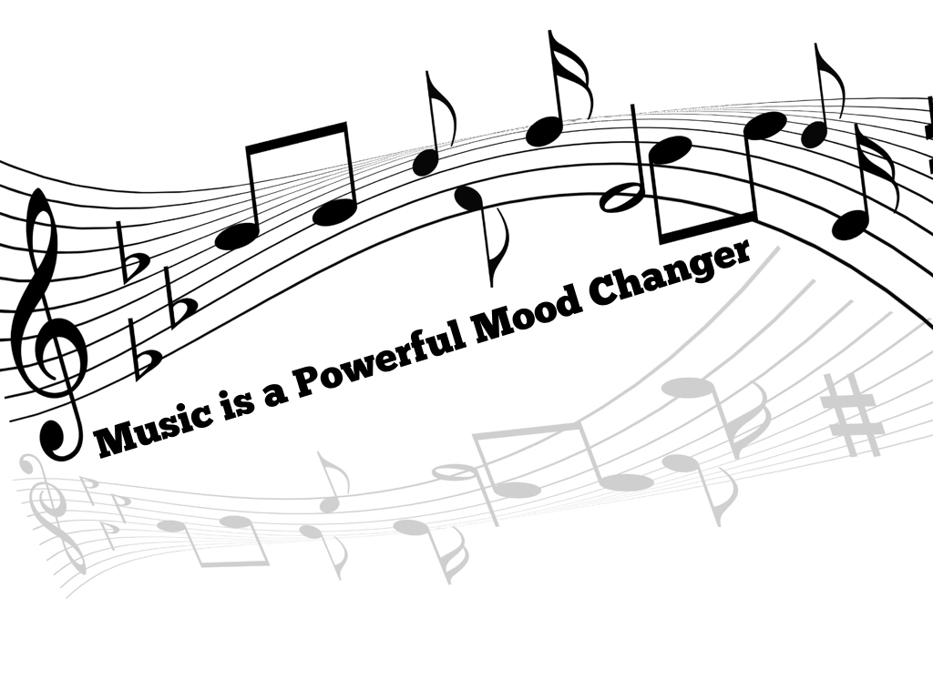 music and mood New research shows that music can elevate your overall happiness, and also change how you perceive things.