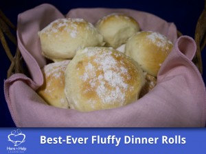 The Best-Ever Fluffy Dinner Rolls