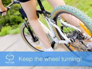 Keep the wheel turning!