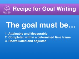 The goal must be…
