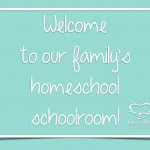 Welcome to Our Family's Homeschool Schoolroom