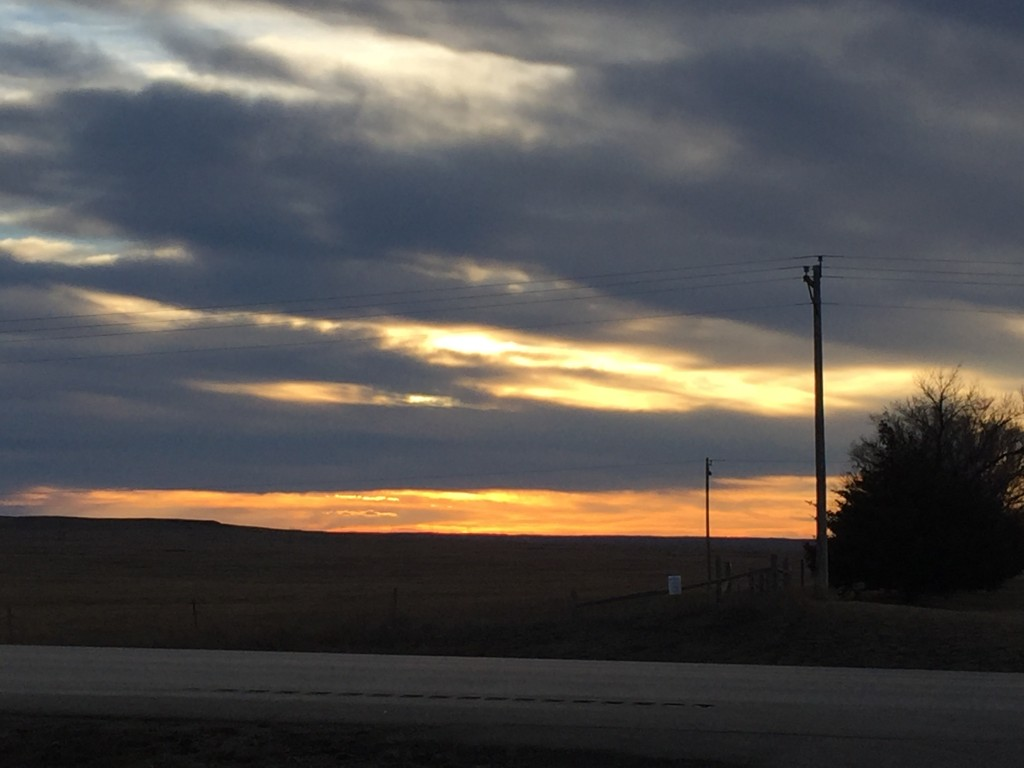 On the Road with HTHL Sunset South Dakota