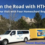 On the Road with HTHL: Our Visit with Four Homeschool Boys