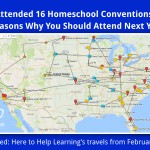 I Attended 16 Homeschool Conventions! 10 Reasons Why You Should Attend Next Year!
