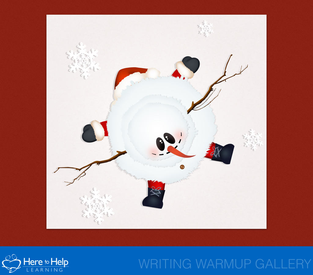 The 12 Days Christmas Writing Warm UpsHere To Help Learning