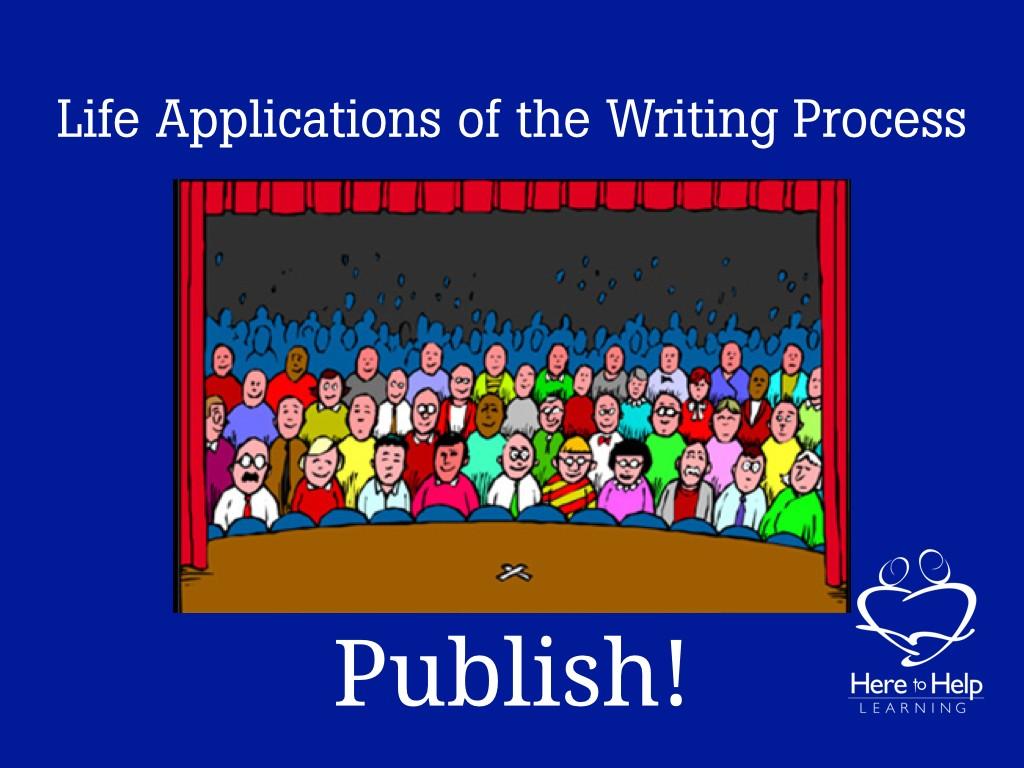 3 x 3 writing process