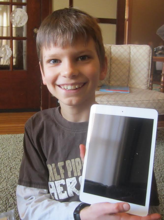 Jackson and iPad