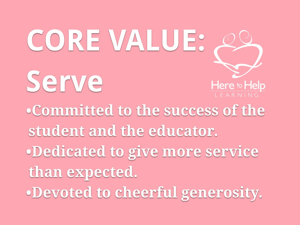 Core Values HTHL.001
