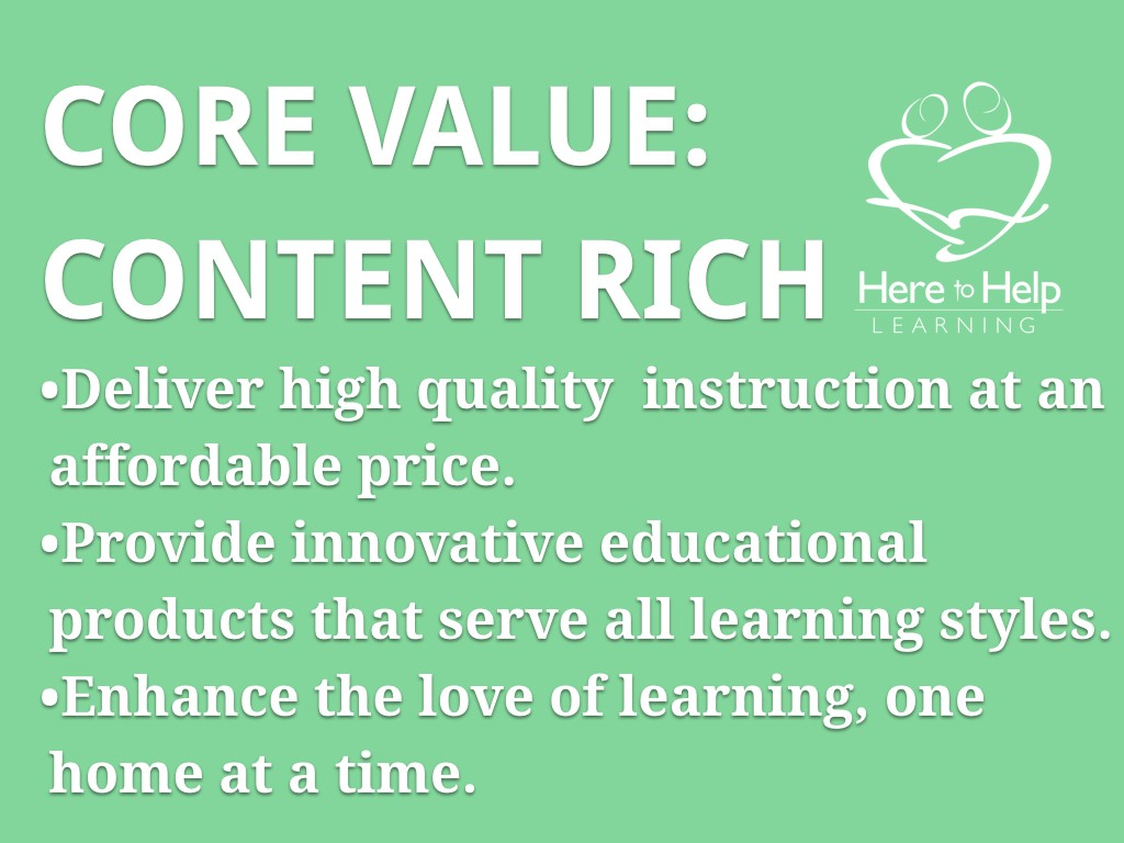 Core Values HTHL.002