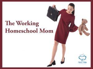 Balancing Work and Homeschooling