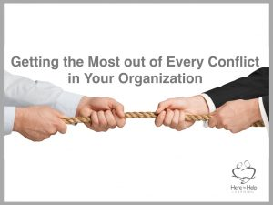 Conflict in Your Organization