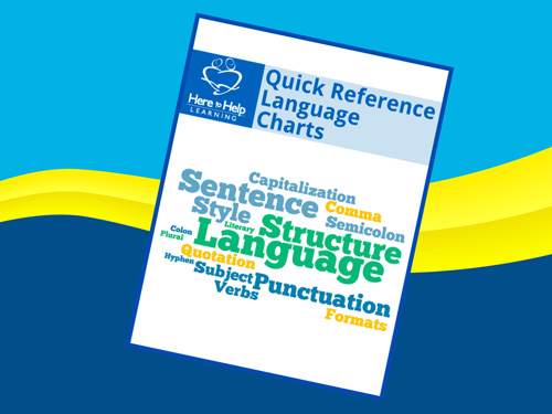Quick Reference Language Charts 001