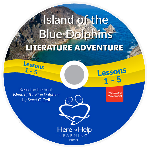Here to Help Learning's Island of the Blue Dolphins Literature DVD