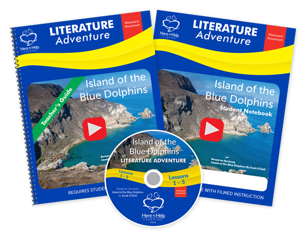 media kit here to help learning island of the blue dolphins