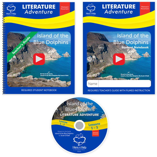 Here to Help Learning's Island of the Blue Dolphins Literature Teacher Kit