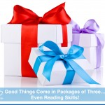 Good Things Come in Packages of Three-Even Reading Skills