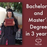 Bachelor's and Master's Degree in 3 Years?