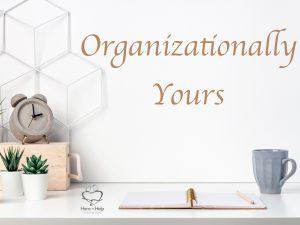 Organizationallly Yours