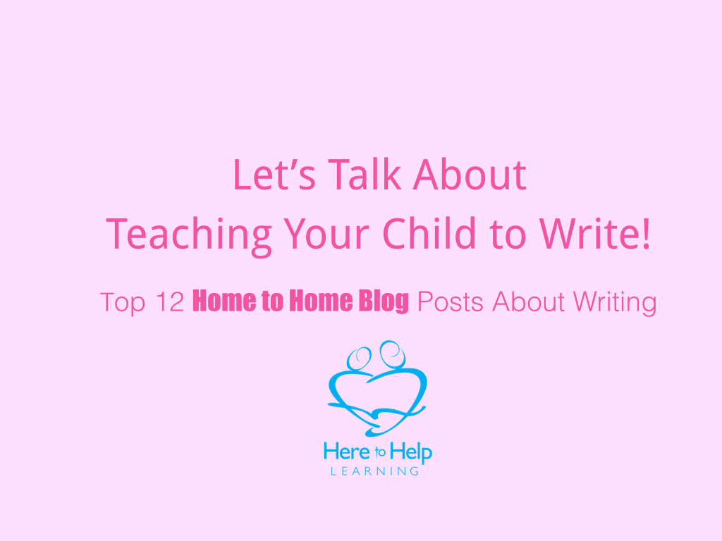 Top 12 Home to Home Blog Posts About Writing.001