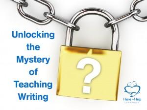 Unlocking the Mystery of Teaching Writing.002